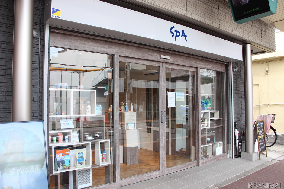 「SPA(Society for Protection of Animals = 動物保護協会)」の譲渡施設