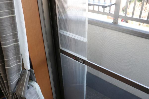 ねこDIY:網戸に猫ドアをつける