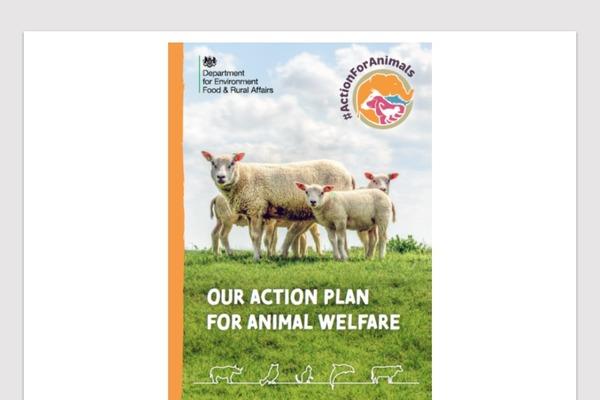 「Action Plan for Animal Welfare」冊子は20ページにわたる