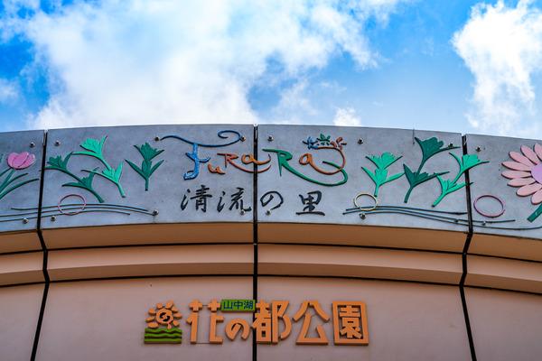 山中湖の「花の都公園」も花と富士山を楽しめます