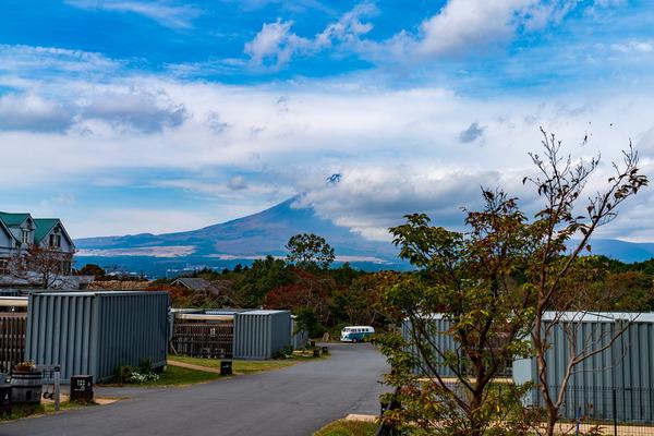 御殿場からもきれいに見える富士山