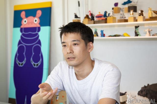 造形作家・志村リョウ氏