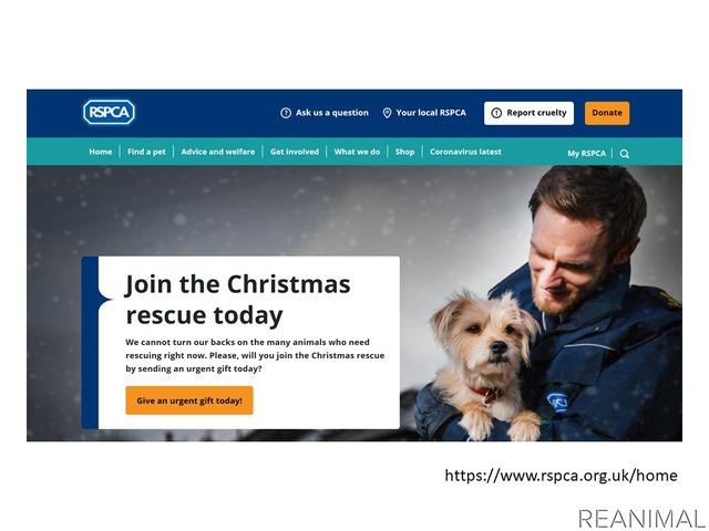 RSPCAは王立動物虐待防止協会の略称